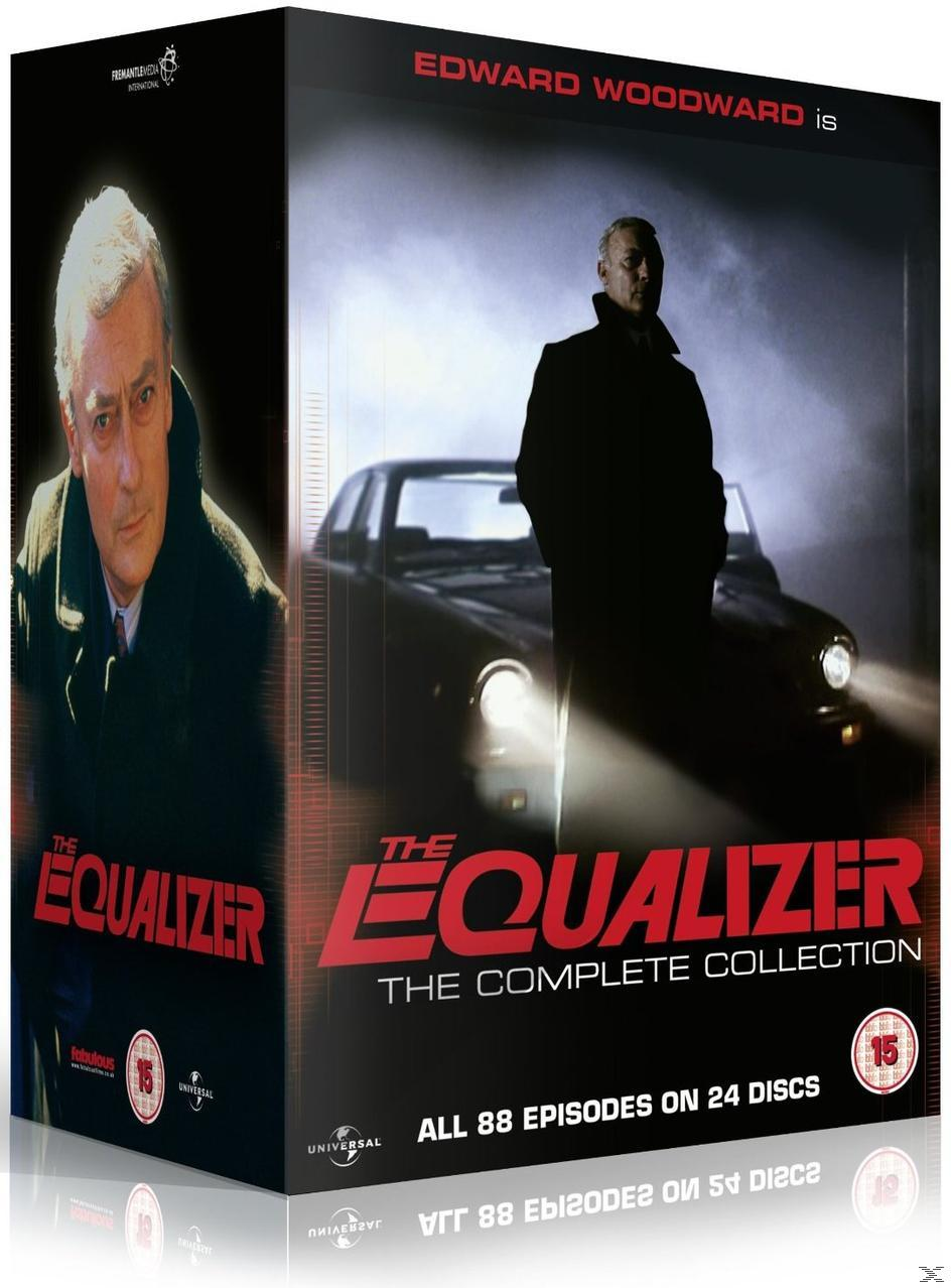 The Equalizer - Complete Series 1-4 DVD-Box